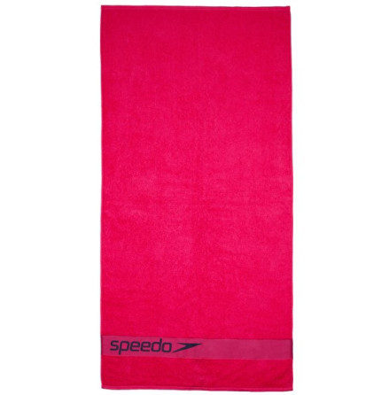 Speedo Border Towel Rosa